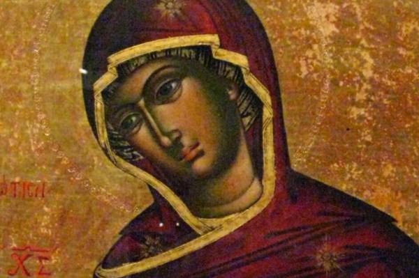 Ikona Bogorodice Mlekopitateljnica